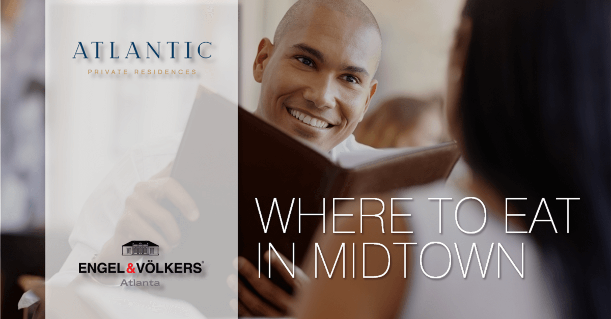 Dining in Midtown Today – or Tonight